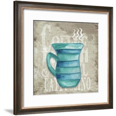 Daily Coffee II-Elizabeth Medley-Framed Art Print
