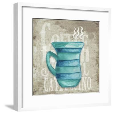 Daily Coffee II-Elizabeth Medley-Framed Art Print