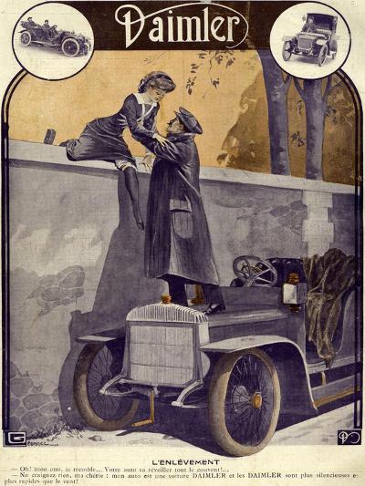 Daimler, Georges Leonnec, 1912, France--Giclee Print