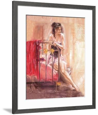 Dainty Moments-Talantbek Chekirov-Framed Premium Giclee Print