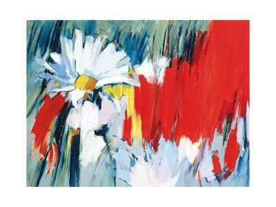 Daisies in Basic Colors-Madeleine Lemaire-Art Print