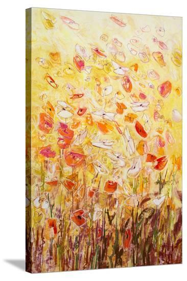 Daisy Chain 5--Stretched Canvas Print