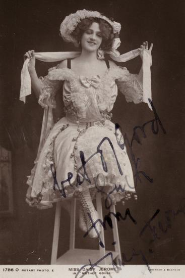 Daisy Jerome, English Stage Actress--Photographic Print