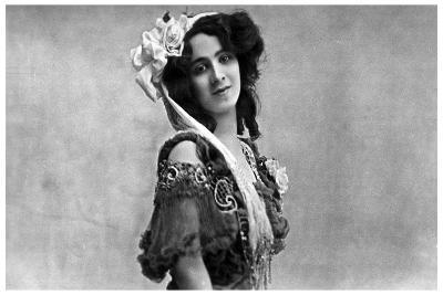 Daisy Jerome, Music Hall Actress, C1890-1919--Giclee Print