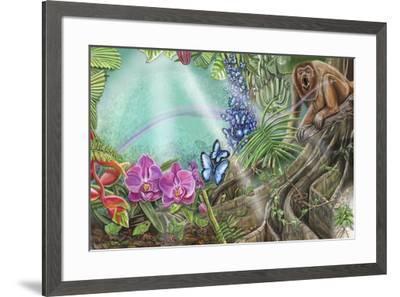 Daisylocks Spread 9-Cathy Morrison Illustrates-Framed Giclee Print