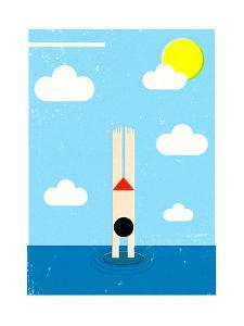The Splash by Dale Edwin Murray