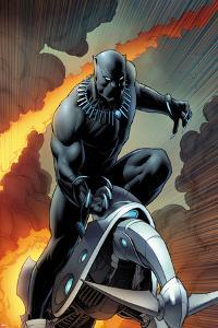 Black Panther No. 1 Cover Art by Dale Keown