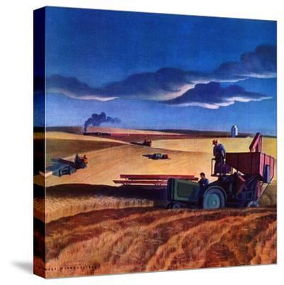 """Wheat Harvest,""June 1, 1942"
