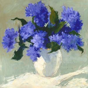 Blue Hydrangea Bouquet by Dale Payson