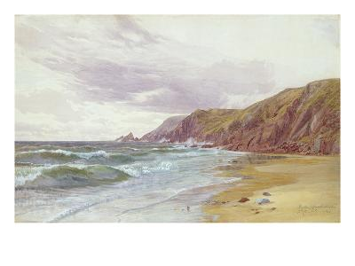 Dale, Pembrokeshire, July 1866 (W/C on Paper)-George Vicat Cole-Giclee Print