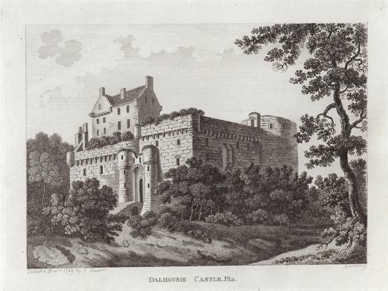 Dalhousie Castle--Giclee Print