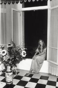 Dalida in Her House in Paris