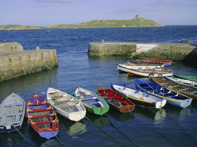 Dalkey Island and Coliemore Harbour, Dublin, Ireland, Europe-Firecrest Pictures-Photographic Print