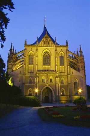 Church of St. Barbara, Kutna Hora, Czech Republic