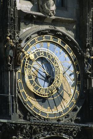 Old Town Hall Astronomical Clock, Prague, Czech Republic