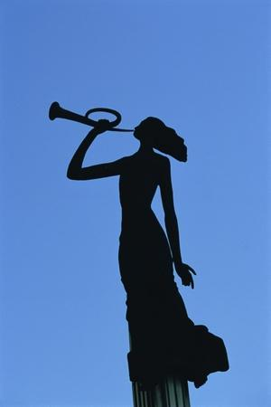 Statue, Woman, Laisves Aleja Avenue, Promenade, Kaunas, Lithuania