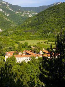 Bachkova Monastery, Rhodope Mountains, Bulgaria, Europe by Dallas & John Heaton