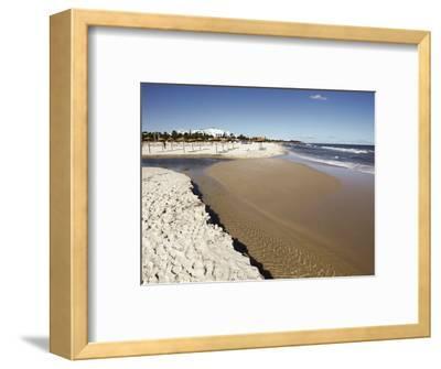 Beach Scene in the Tourist Zone on the Mediterranean Sea, Sousse, Gulf of Hammamet, Tunisia