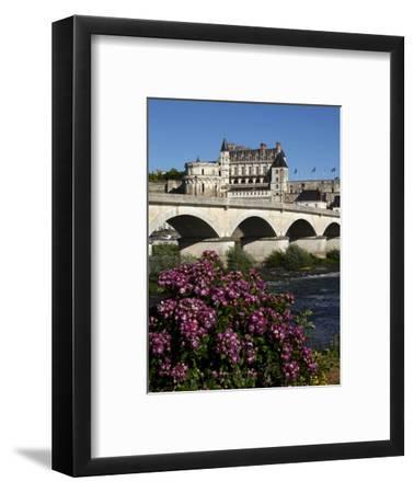 Chateau D'Amboise on the River Loire, Indre-Et-Loire, Loire Valley, France