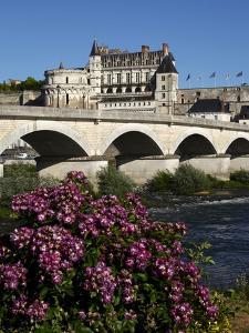 Chateau D'Amboise on the River Loire, Indre-Et-Loire, Loire Valley, France by Dallas & John Heaton