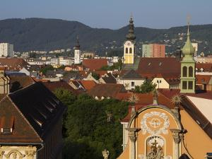 Kloster Spital, Barmherzigenkirche, UNESCO World Heritage Site, Graz, Styria, Austria, Europe by Dallas & John Heaton