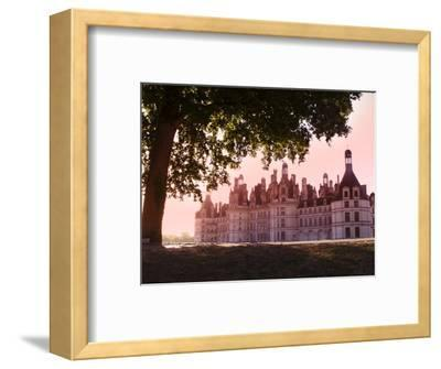 North Facade in the Early Morning, Chateau De Chambord, Loir-Et-Cher, Loire Valley, France