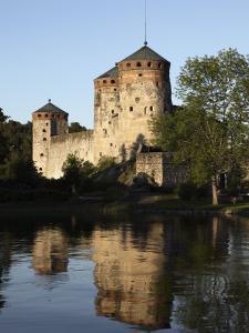 Olavinlinna Medieval Castle, Savonlinna, Saimaa Lake by Dallas & John Heaton