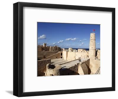 Ribat (Fortress) on Mediterranean Coast, Monastir, Tunisia, North Africa, Africa