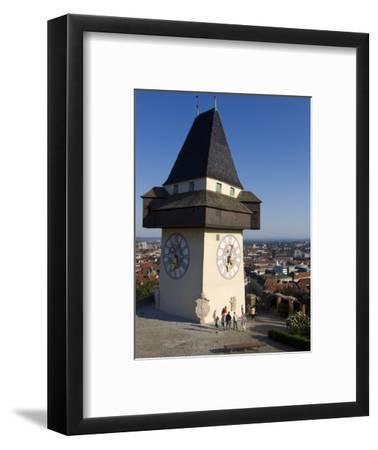 Schlossberg, Clock Tower, Old Town, UNESCO World Heritage Site, Graz, Styria, Austria, Europe