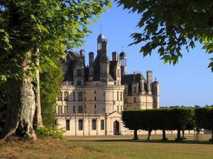 South Facade, Chateau De Chambord, Chambord, Loir Et Cher, Loire Valley, France by Dallas & John Heaton
