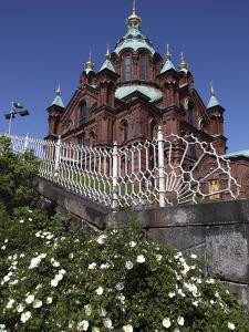 Uspenski Cathedral, Helsinki, Finland, Scandinavia, Europe by Dallas & John Heaton