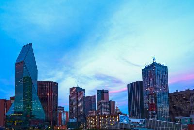Dallas_Night_Fromthewestend- ericurquhart-Photographic Print