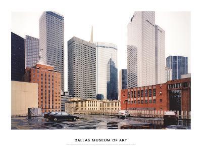 Dallas Parking Lot, Dallas-Thomas Struth-Art Print