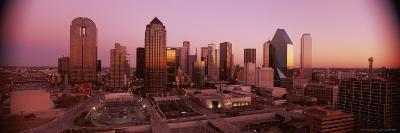 Dallas Skyline at Dusk-Richard Nowitz-Photographic Print