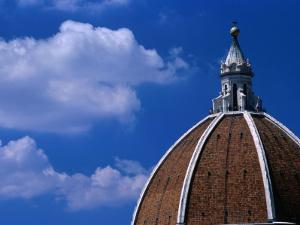 Dome of Il Duomo (Santa Maria Del Flore), Florence, Tuscany, Italy by Dallas Stribley