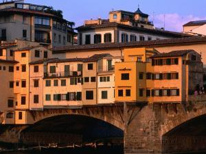Ponte Vecchio, Florence, Tuscany, Italy by Dallas Stribley