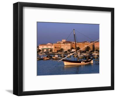 Traditional Fishing Boat at Porto Calasetta, Sant' Antioco, Sardinia, Italy
