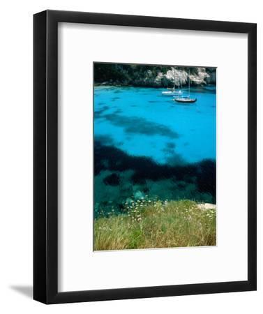 Turquoise Waters at Marcarella, Menorca, Balearic Islands, Spain