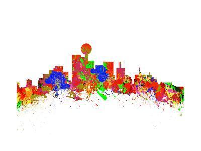 Dallas-chris2766-Art Print