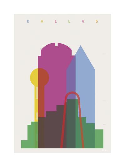 Dallas-Yoni Alter-Giclee Print