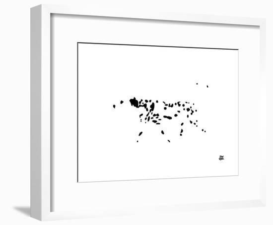 Dalmatian-Yoni Alter-Framed Giclee Print