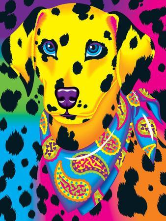 Dalmation 91 Art Print By Lisa Frank