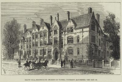 Dalton Hall, Residence for Students of Victoria University, Manchester-Frank Watkins-Giclee Print