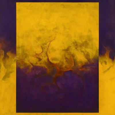 Damascene Moment: Blue and Gold, 2010-Mathew Clum-Giclee Print