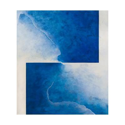 Damascene Moment: Blue and White, 2010-Mathew Clum-Giclee Print