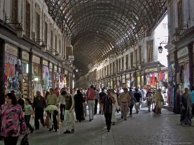 Damascus' Prime Shopping Arcade, Souq Al-Hamidiyya-Patrick Horton-Photographic Print