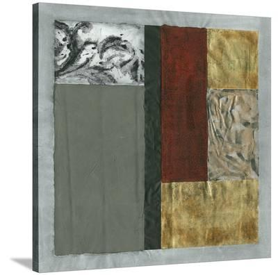 Damask Abstraction II-Jennifer Goldberger-Stretched Canvas Print