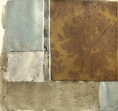 Damask and Stone I--Art Print