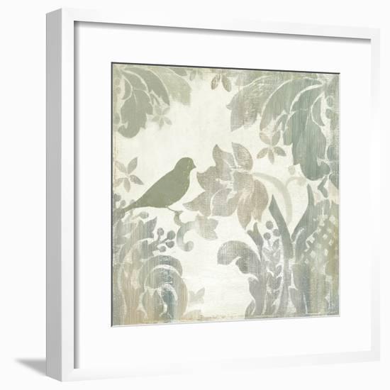 Damask Bird I-Asia Jensen-Framed Art Print