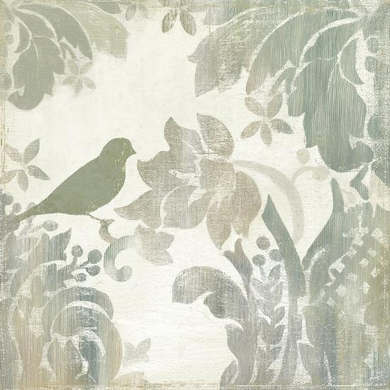 Damask Bird I-Asia Jensen-Art Print